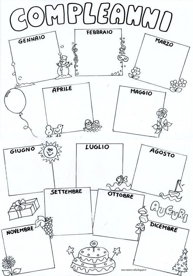 Risultati immagini per calendario compleanni scuola dell for Idee per l accoglienza nella scuola dell infanzia