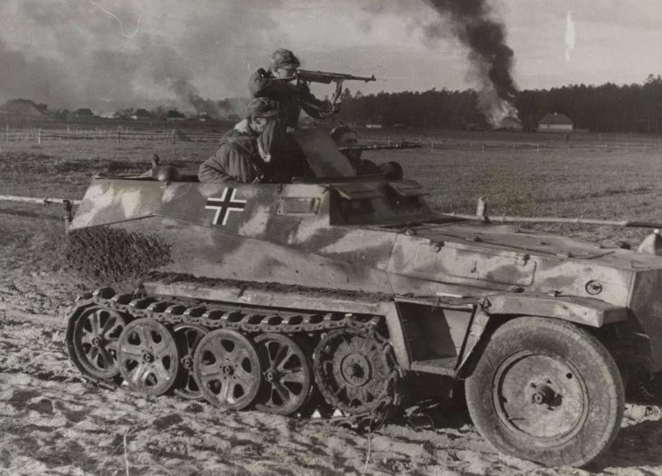 Sd.Kfz.250 na froncie wschodnim