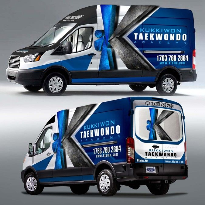 Create car wrap for martial arts van by pgraph