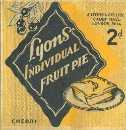 J. Lyons & Co. Individual Fruit Pies