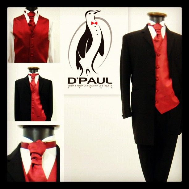 traje #casaca# tuxedo #casaca de saco largo con #chaleco y corbatón ...
