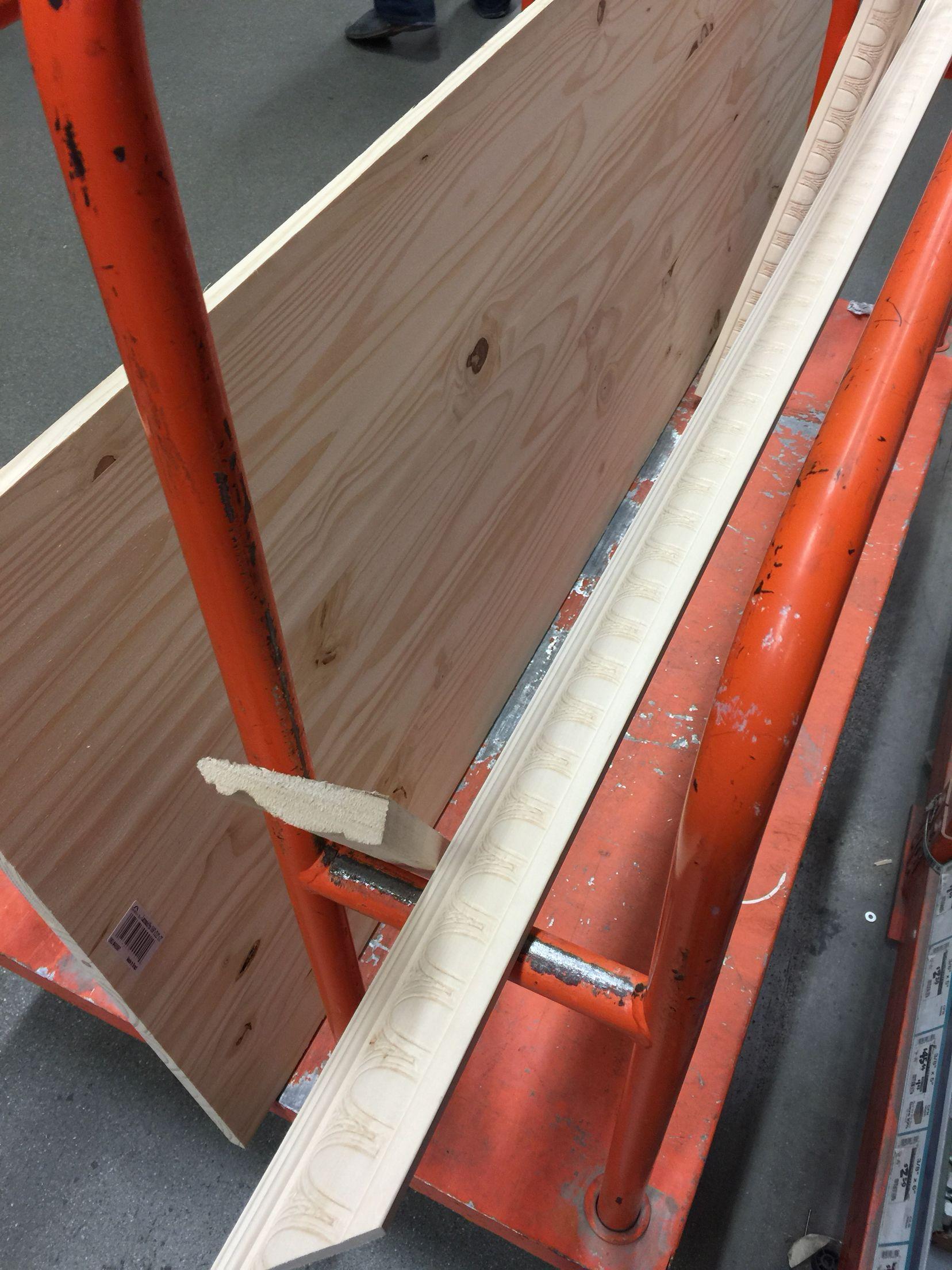 Wood Board From Home Depot Diy Headboard Wood Board Home Depot