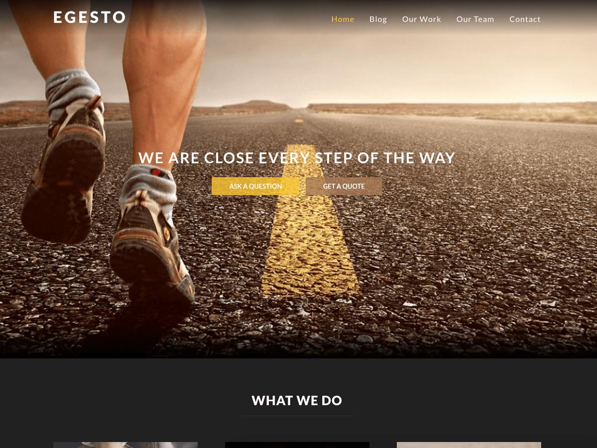 Download Egesto Lite 1.0 – Free WordPress Theme | WordPress theme ...