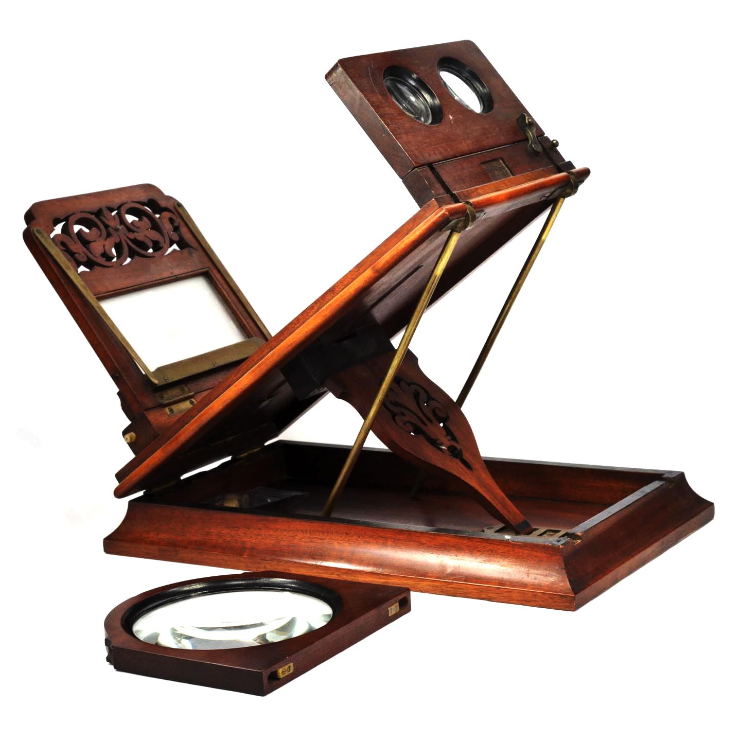Antique Stereoscope Tabletop