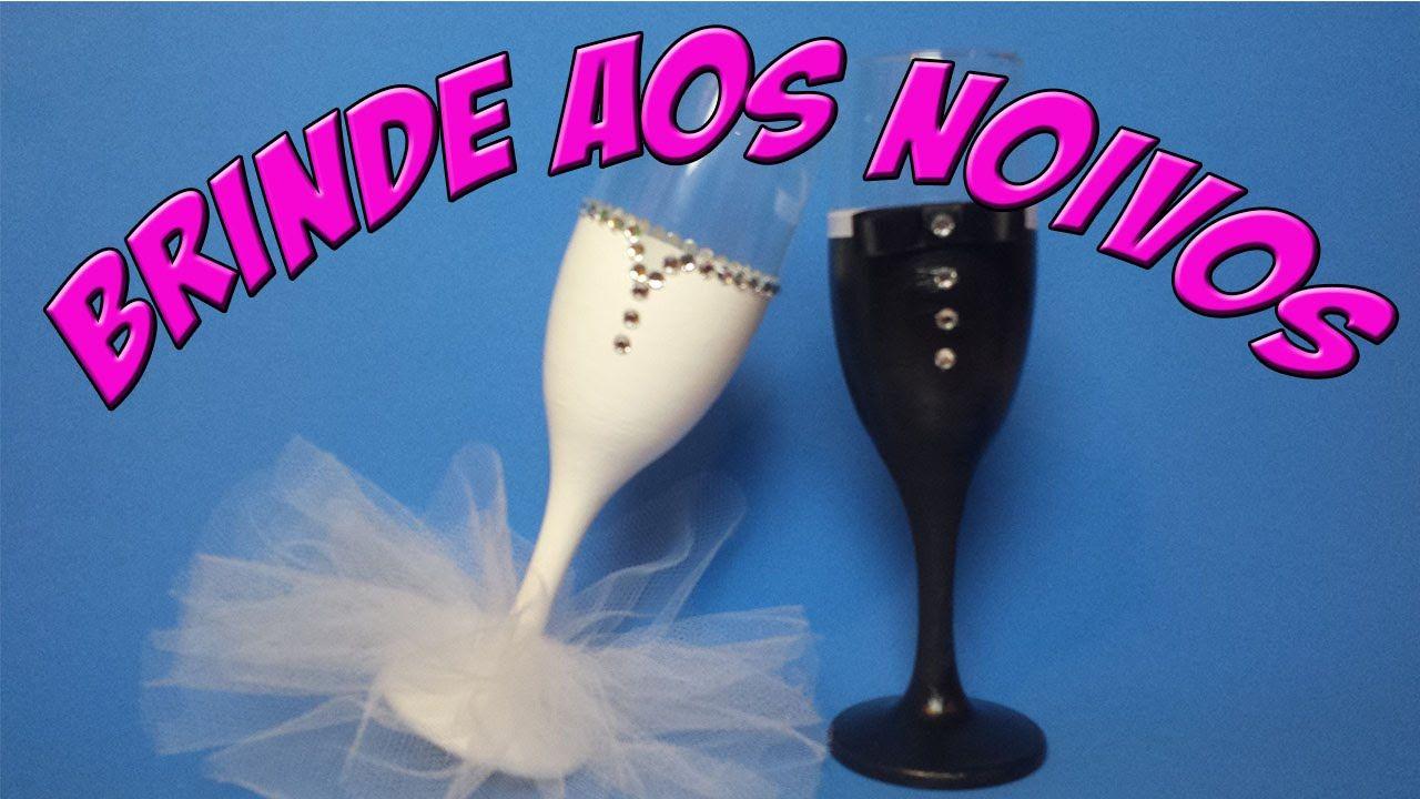 DIY : Taças para noivos : Decoração Casamento