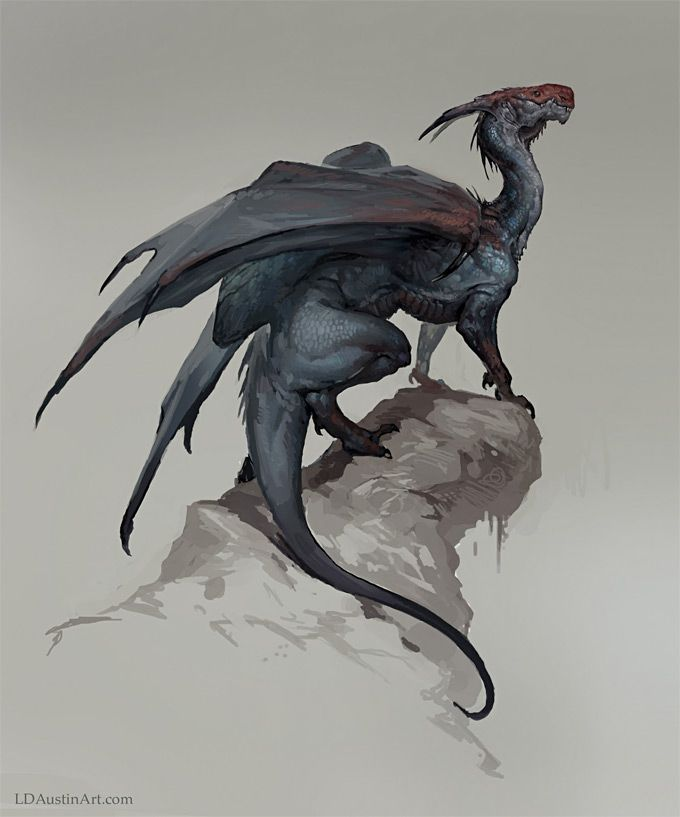 44 enthralling examples of dragon concept art and illustrations