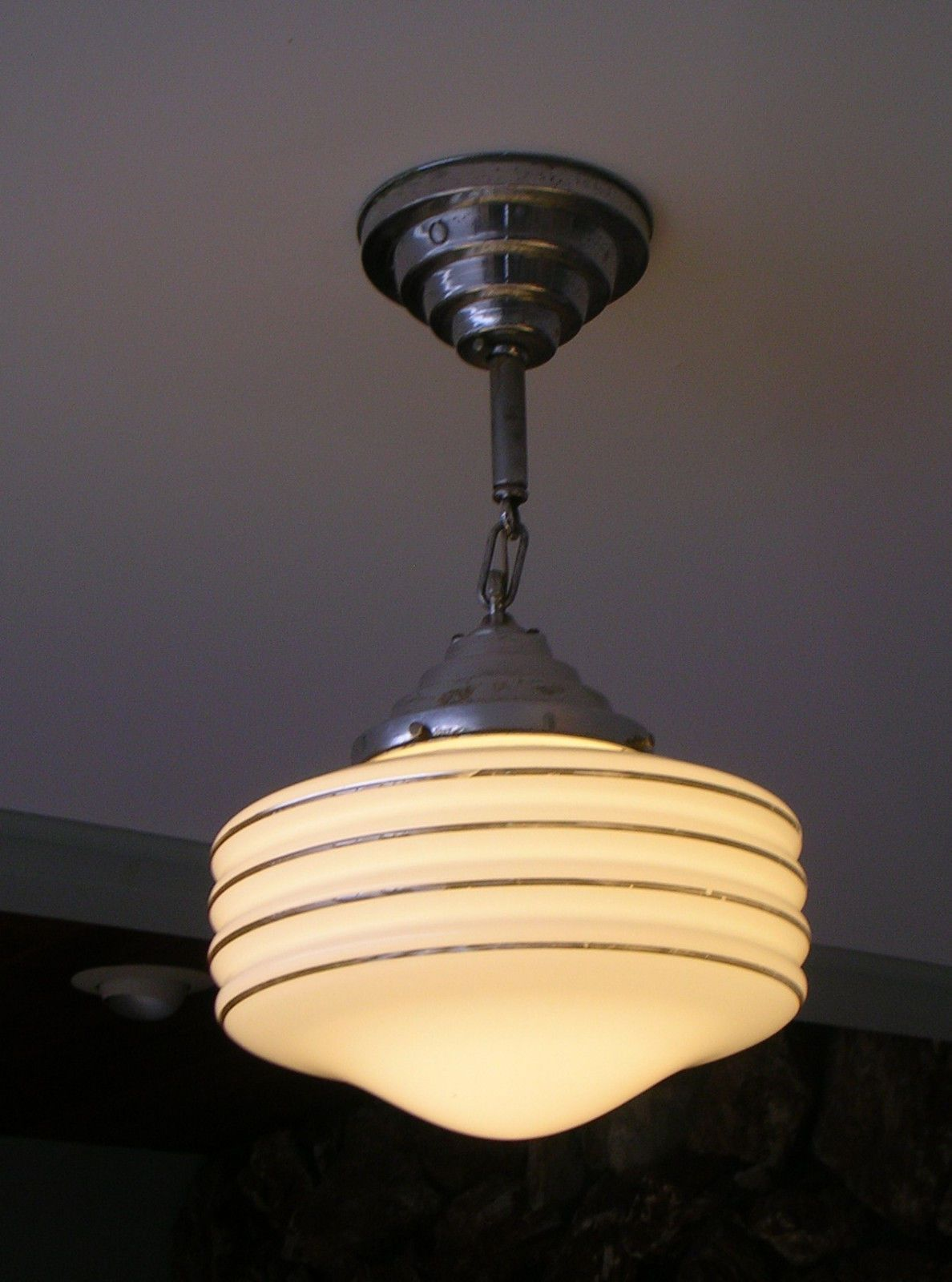 1930\'s Chicago Cool Vintage Antique Retail Store Ceiling Light ...