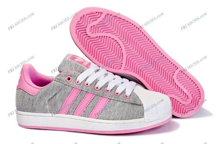 2014 adidas originals superstar 2 grey pink womens running