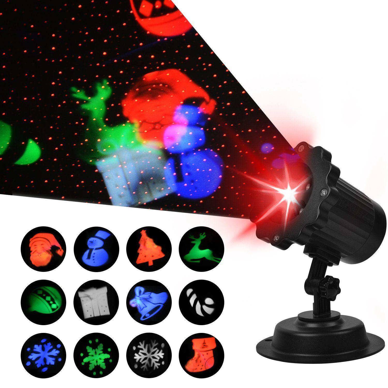 Top 10 Best Outdoor Laser Christmas Light Projectors In 2019 Reviews Laser Christmas Lights Laser Christmas Lights Projectors Holiday Lights