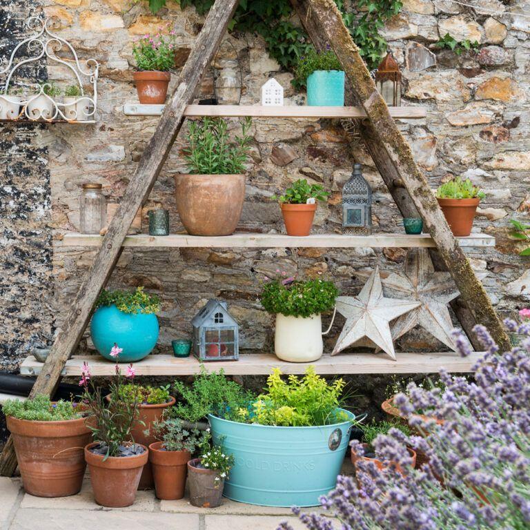 10+ Vegetable Gardens, Using Vertical Gardening Ideas In