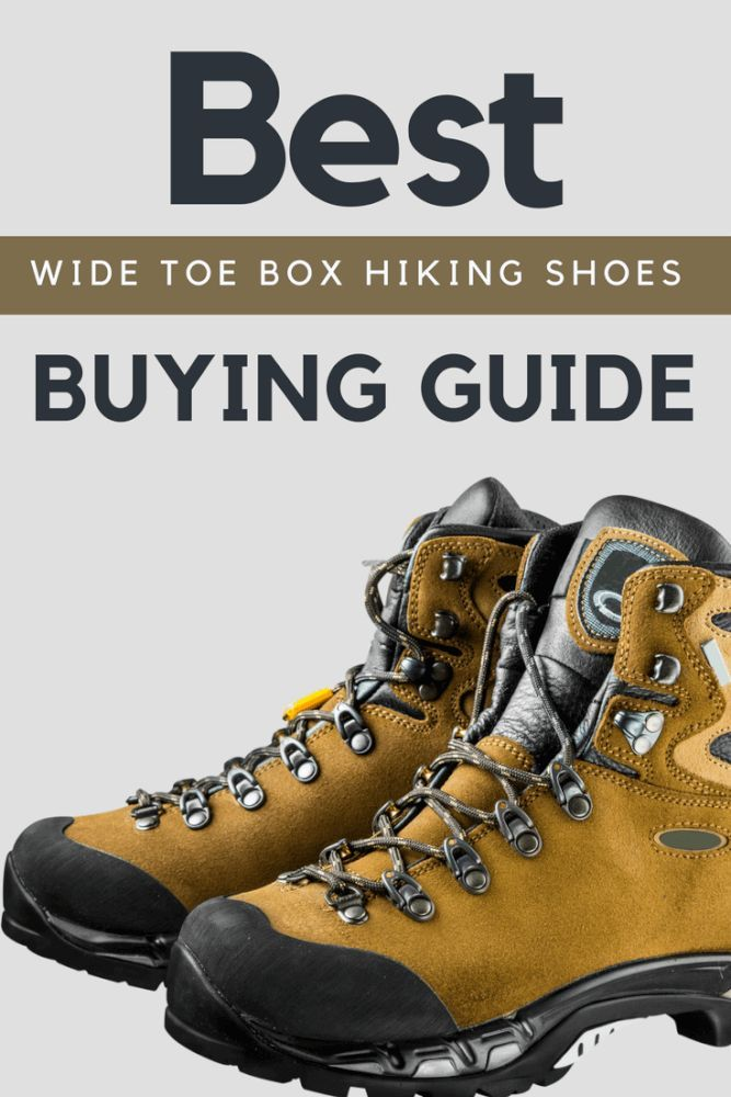 Wide Toe Box Hiking Boots Hiking Gear Clothing