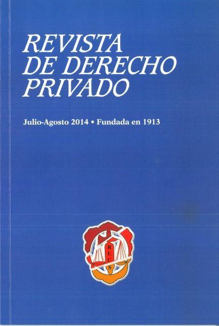 REVISTA DE DERCHO PRIVADO