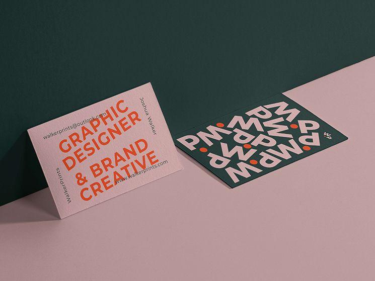 Josh Walker Business Card Business Card Design Inspiration Graphic Design Business Card Business Card Design Business Card Design Inspiration