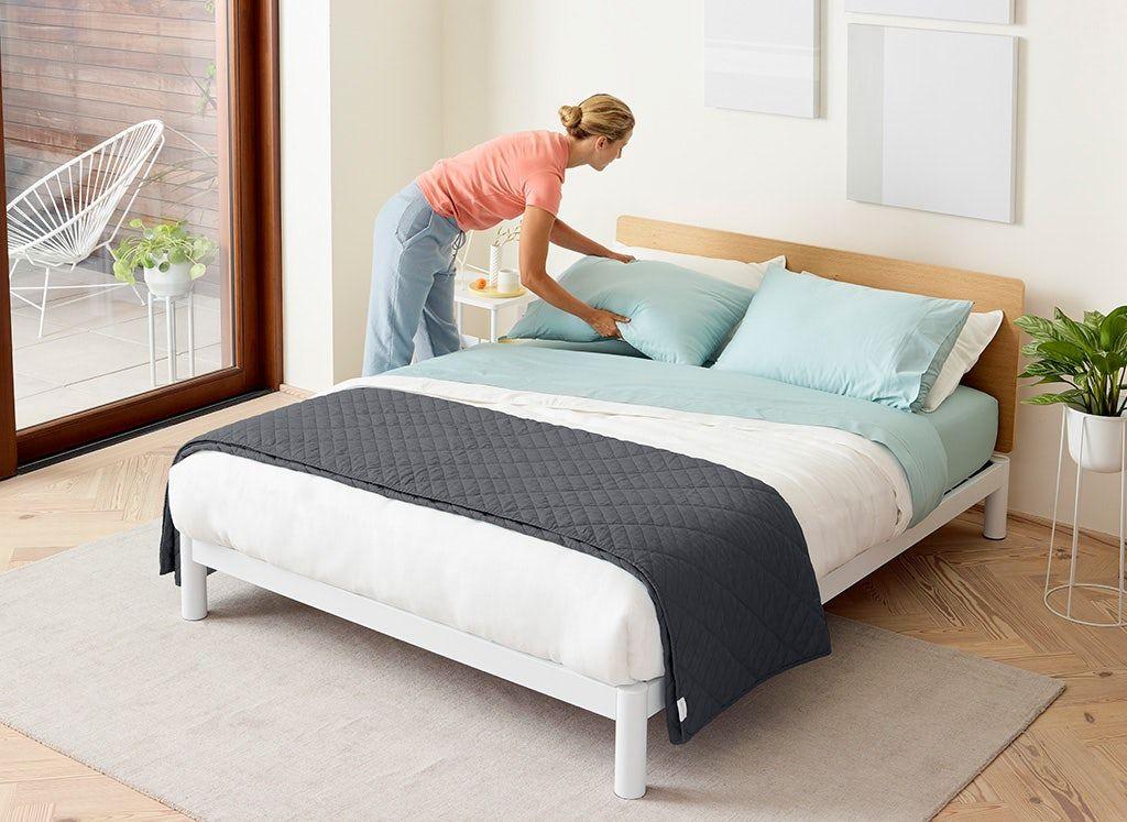 Casper Platform Bed Full Slate woodworkersofinstagram