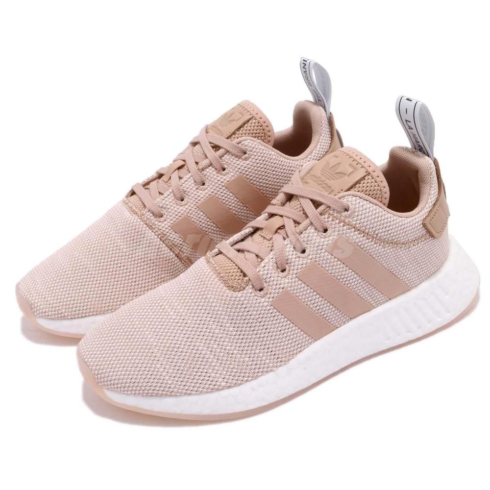 adidas Originals NMD R2 W Ash Pearl Pink Women Running Shoes Sneakers AQ0197 6d73aaca4