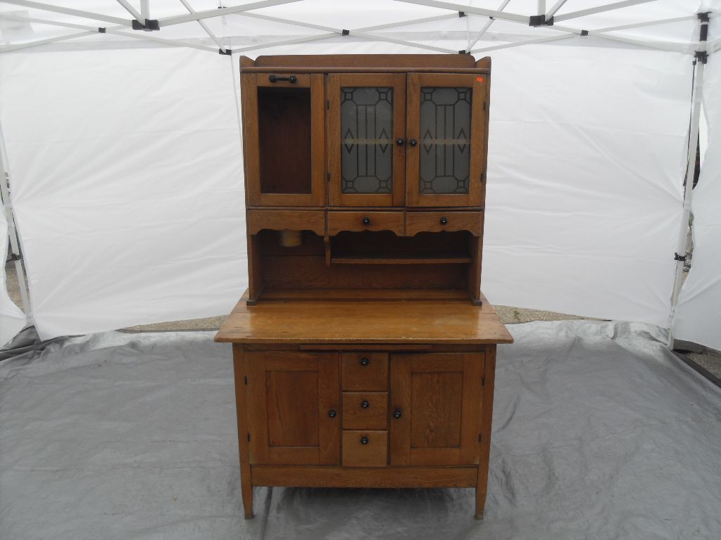 Mission Style Hoosier Cabinet Vintage A Great Accent Piece With So