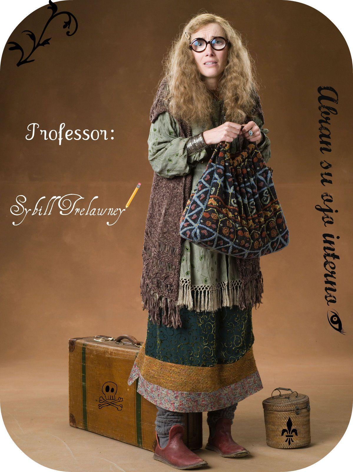 Inspiration For Prof Trelawney Disfraces De Harry Potter Ropa De Harry Potter Trajes De Harry Potter