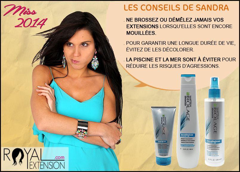 Les extensions de cheveux s'entretiennent encore plus que vos propres cheveux ! http://www.royalextension.com/fr/catalogue/soins-des-extensions.59-1.html