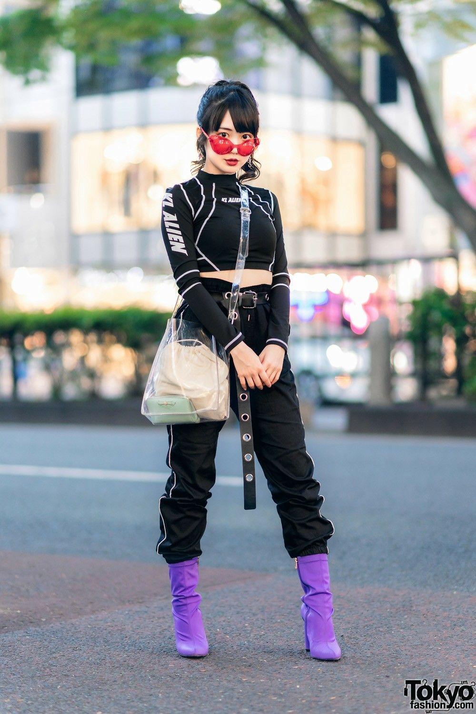 Futuristic big city outfit