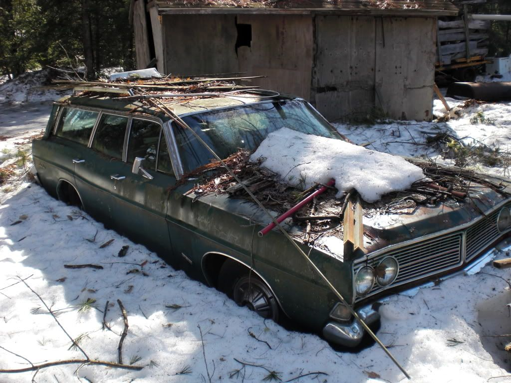 old car salvage yards   Re: Recent trip to a massive junk yard ...