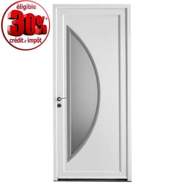 Porte d 39 entr e paimpol pvc lapeyre id es de porte d for Porte d entree pvc vitree lapeyre