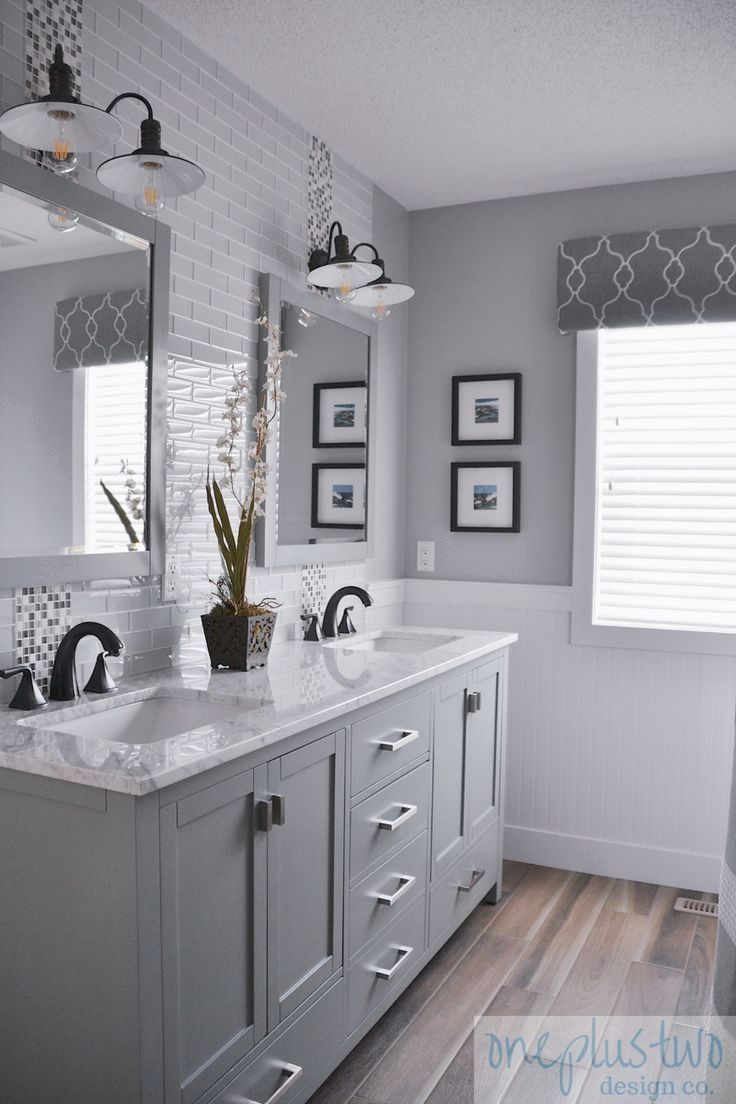 The Bathroom Wall Ideas For Beautifying Your Bathroom: Main Bathroom Renovation Reveal