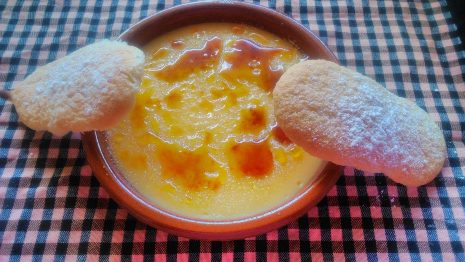 Marujas Primerizas: naranjas aldia y crema catalana para sant josep