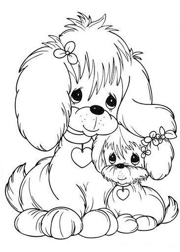 So doggy | Embriodery n needle point | Pinterest | Ausmalbilder ...