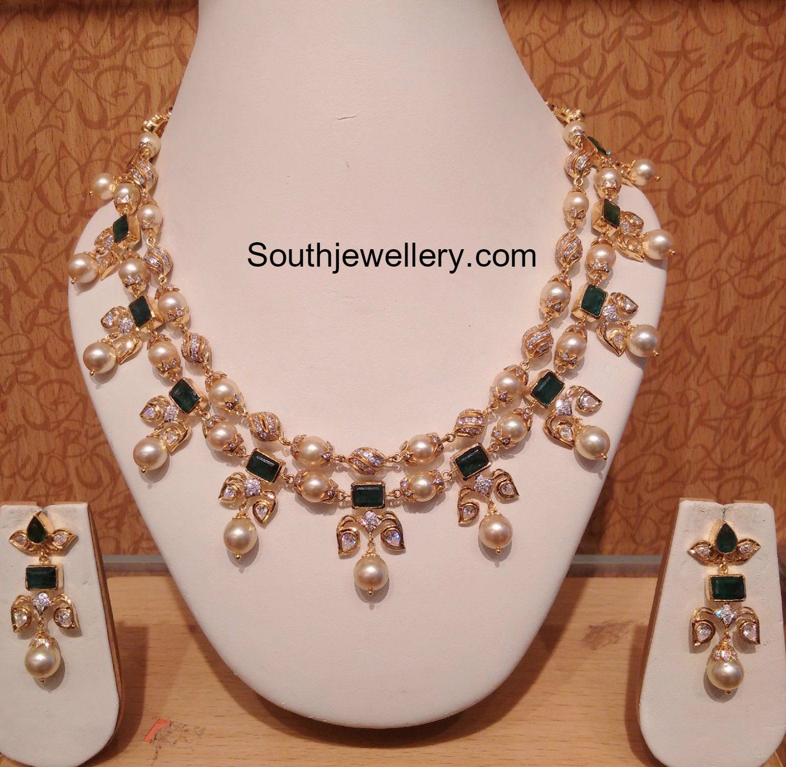 Jewels by Preeti | jewelry designs | Pinterest | Pearl necklace ...
