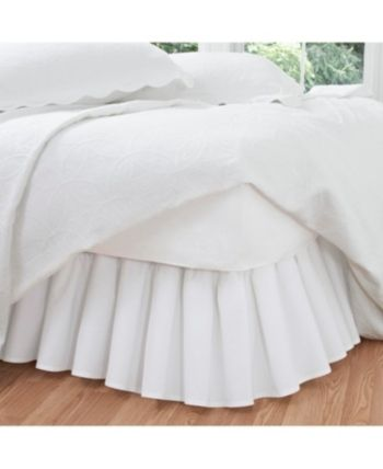 California King Bed Skirt.Fresh Ideas Ruffled Poplin California King Bed Skirt Bedding