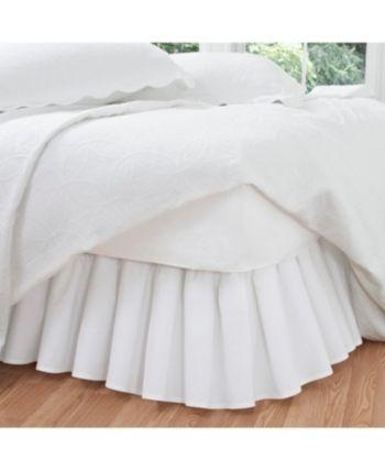 California King Bed Skirt.Fresh Ideas Ruffled Poplin California King Bed Skirt Bedding