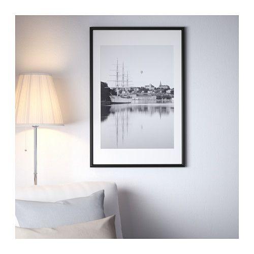 IKEA MARIETORP Frame, black 24x35 ¾ \