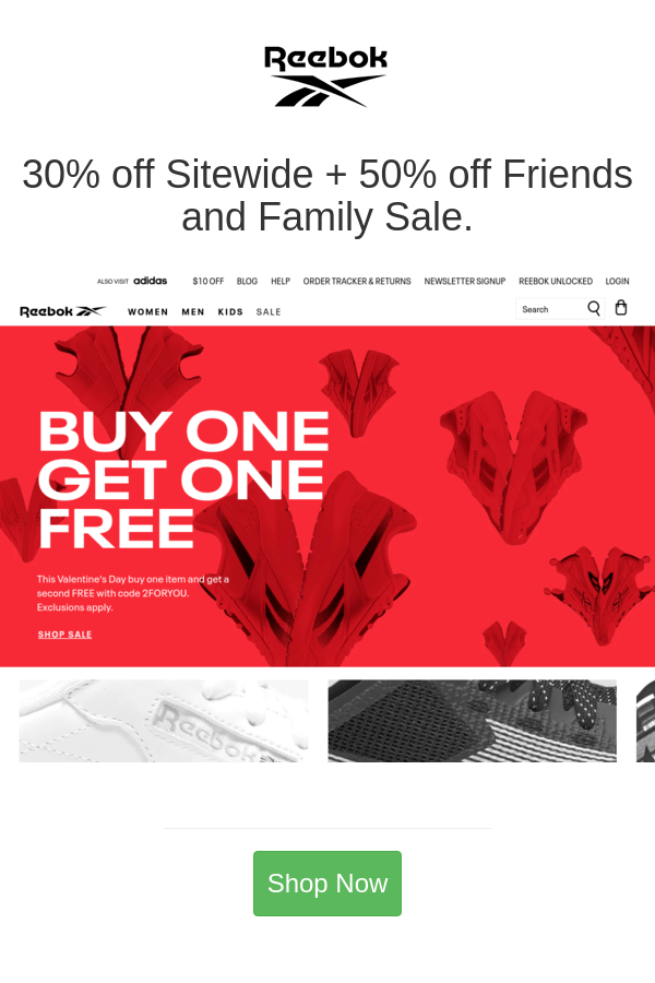 Best Deals And Coupons For Reebok In 2020 Reebok Blog Help Kids Sale