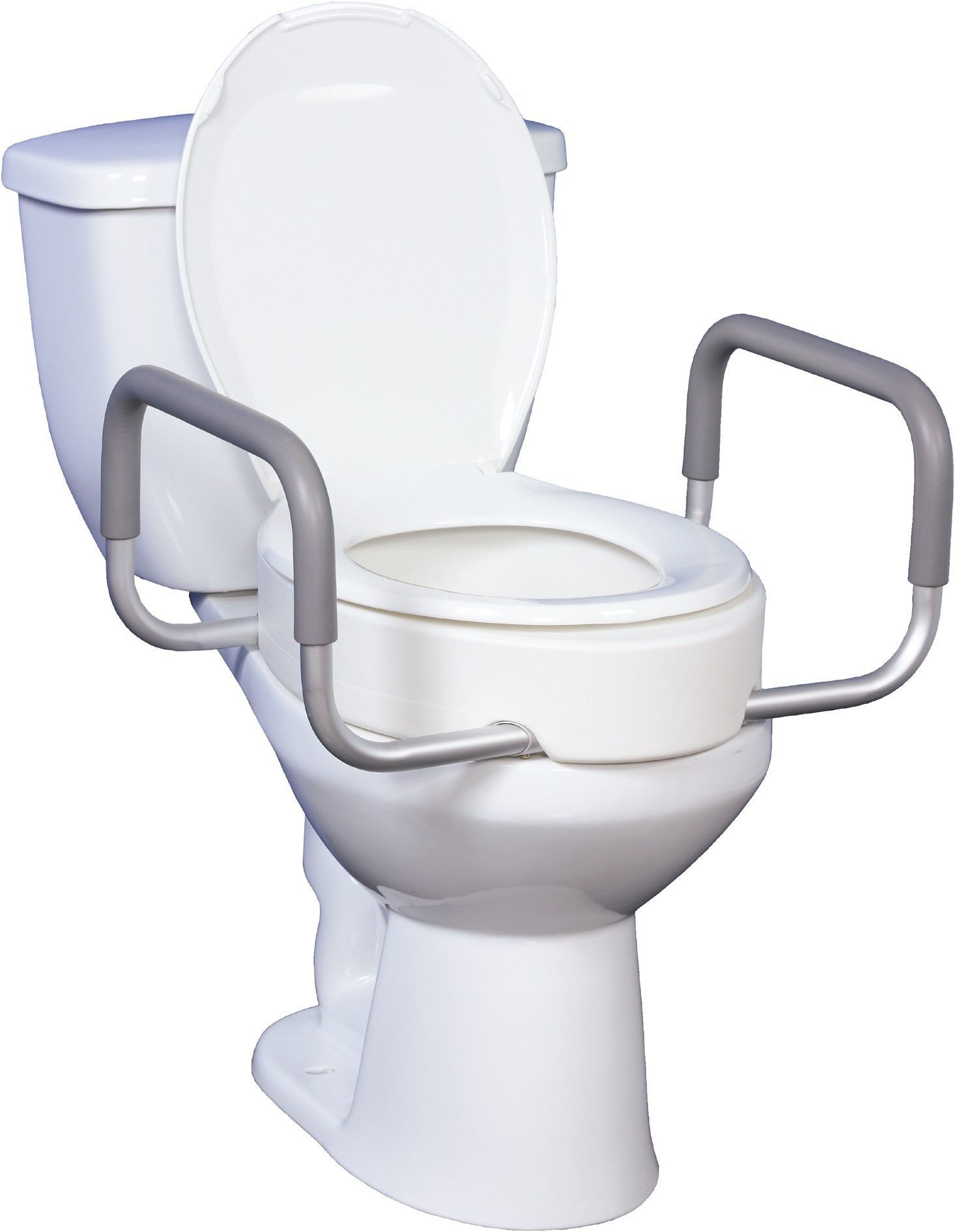 Pleasant Raised Toilet Seat With Removable Arms Products Handicap Caraccident5 Cool Chair Designs And Ideas Caraccident5Info