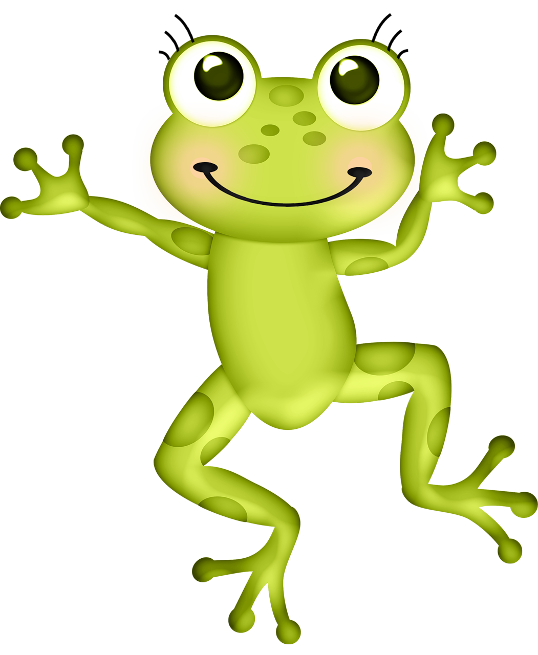 Лягушка мультяшная картинка