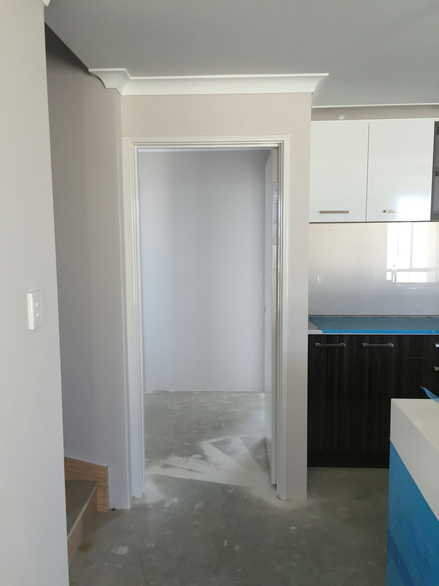 Wall Paint Interior Home Wall Painting Colours: Dulux Limed White Half