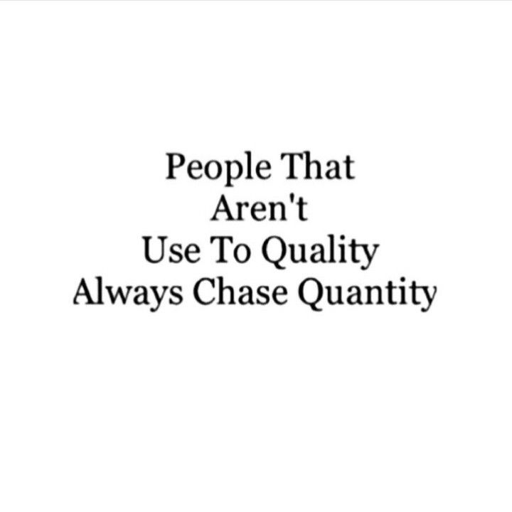 Quality over quantity | Words. | Quotes, Life Quotes, Quality quotes