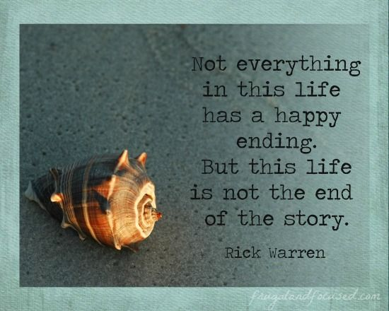 End Of Life Quotes Gorgeous 31 Days Of Encouraging Quotes  Not The End Of The Story 31Days