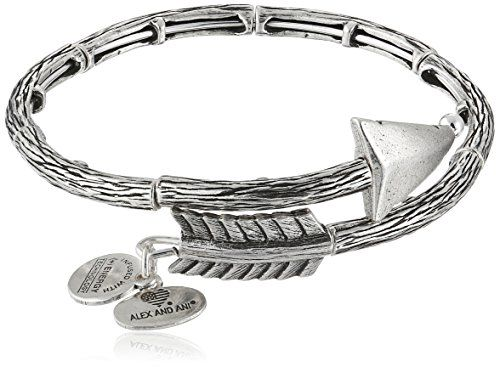 Best Bracelets For Women | Alex and Ani Love Struck Arrow Wrap Rafaelian Silver Bangle Bracelet -- Learn more by visiting the image link. Note:It is Affiliate Link to Amazon.