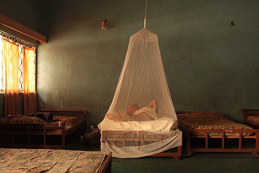 Daniels moskitonetz in Kano Nigeria. Tipps gegen Malaria auf dem Blog!
