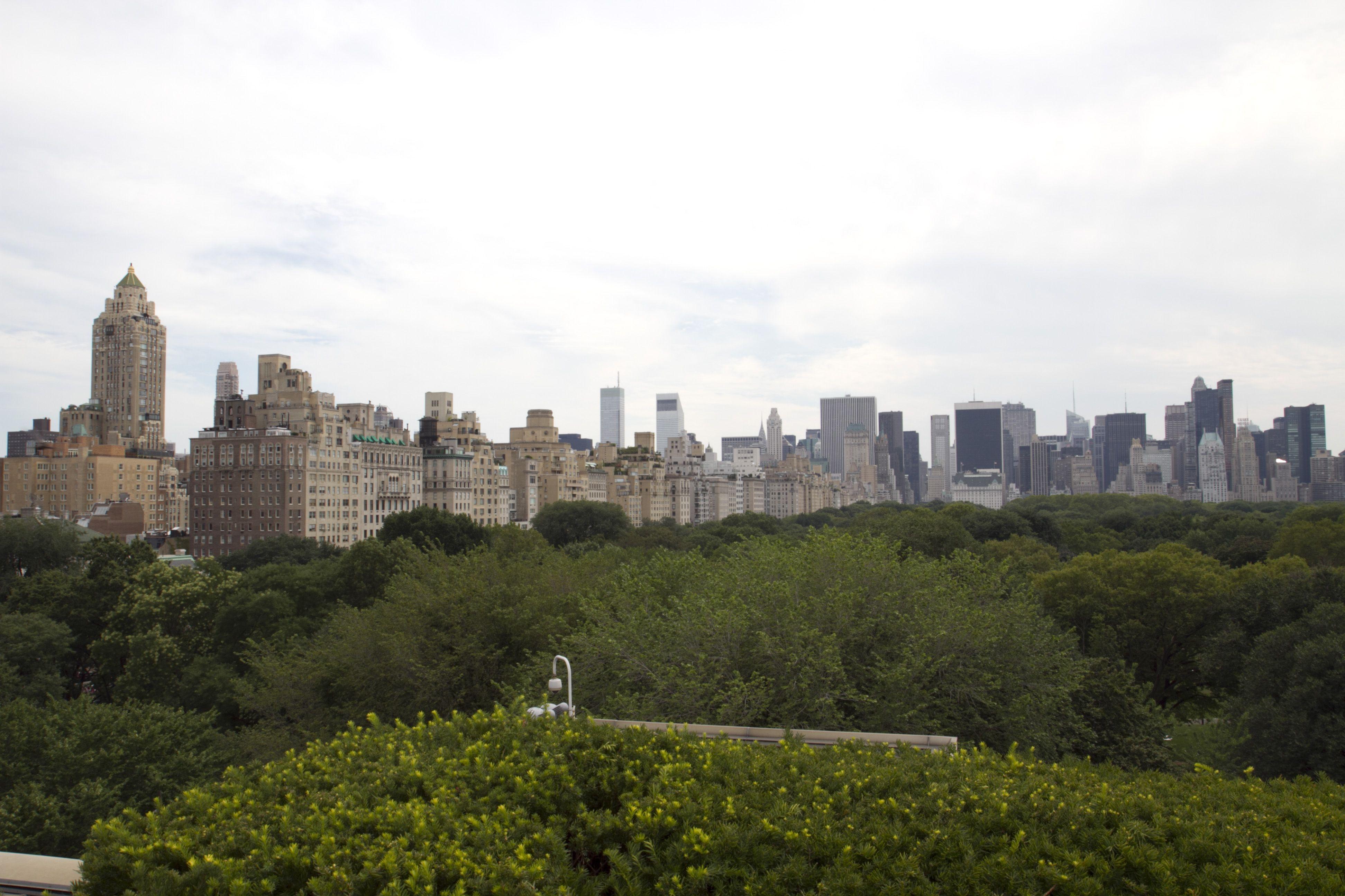 Vista desde la terraza del Metropolitan. N.Y.