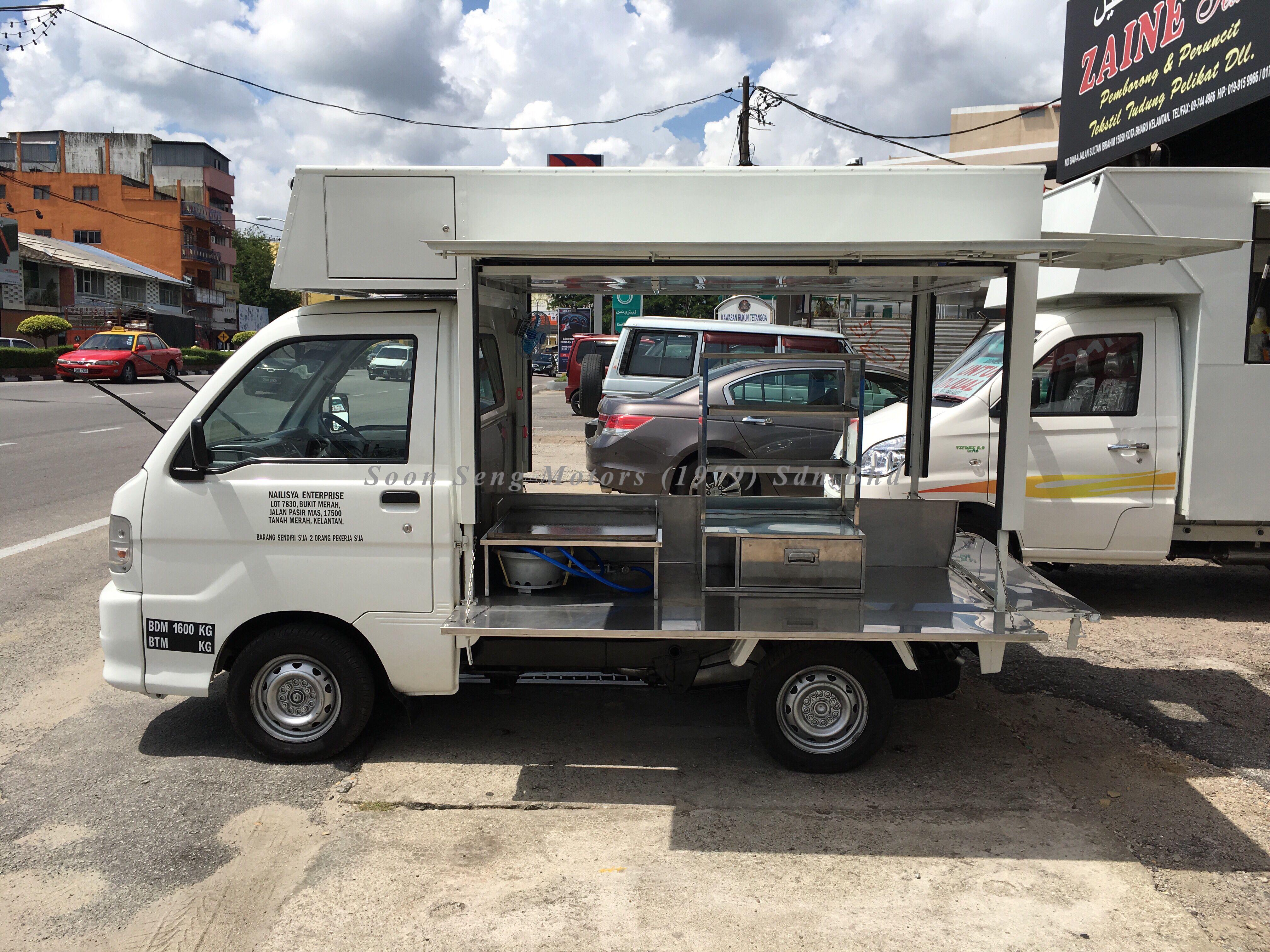 Lori Pasar Malam Suzuki Carry Daihatsu Recreational Vehicles