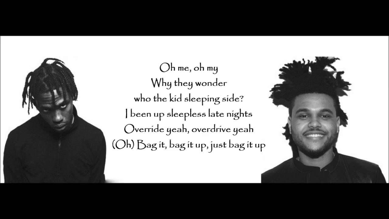Travis Scott Ft The Weeknd Wonderful Lyrics | that DOPE