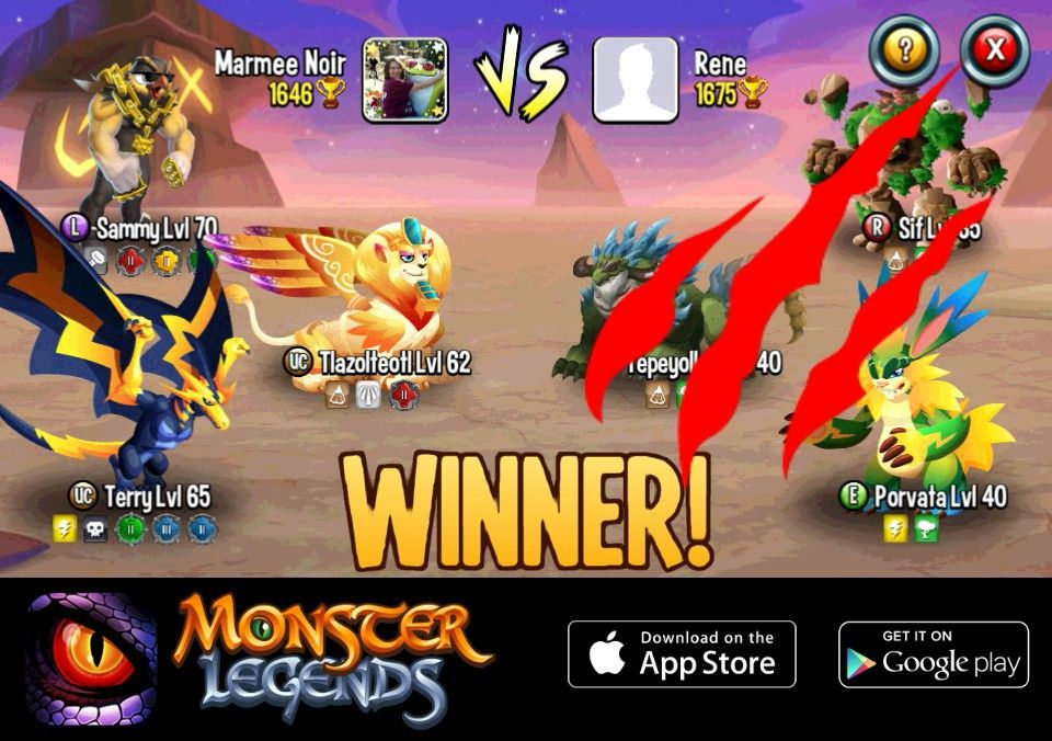Pin by Christy Stubblefield on my game Monster legends