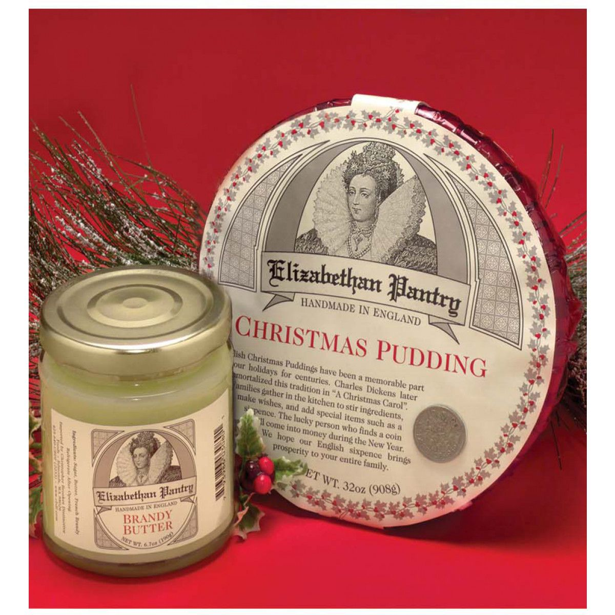 Christmas Pudding with Brandy Butter from BBC Shop for $30