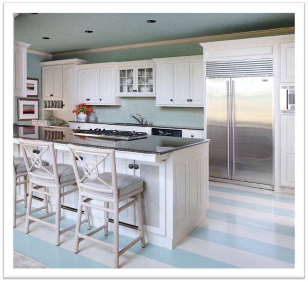 Beach House Renovation Design Decisions For The Kitchen: Beach House Kitchen...don't Like The Floors But Shows
