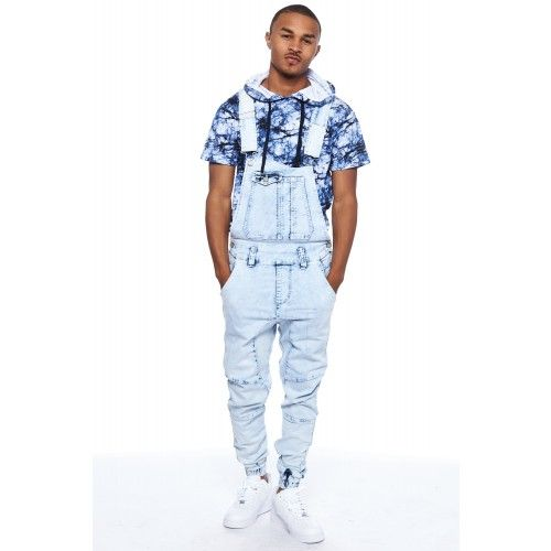 many choices of new best price SMOKE RISE DENIM JOGGER OVERALL #joggers #overalls ...