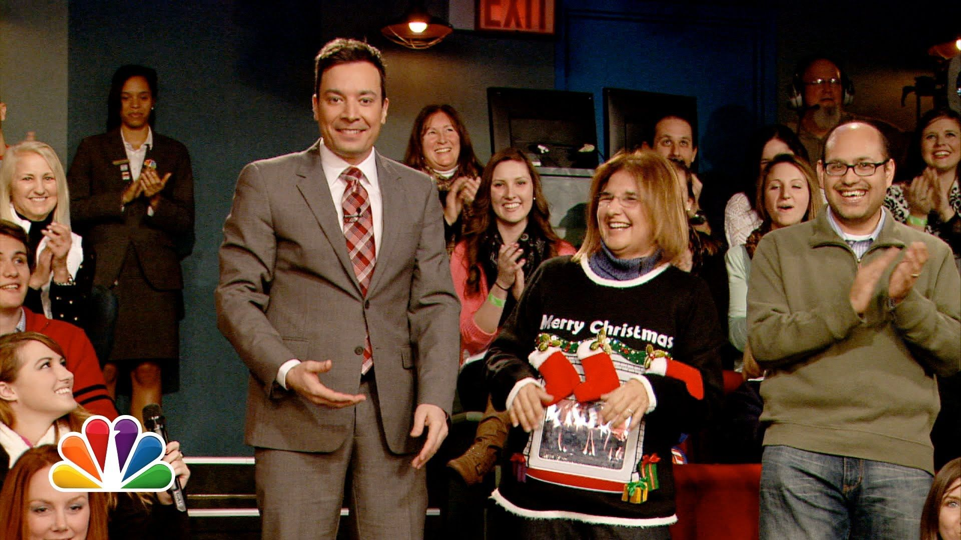 Five Days of Christmas Sweaters: Day 5 (Late Night with Jimmy Fallon ...