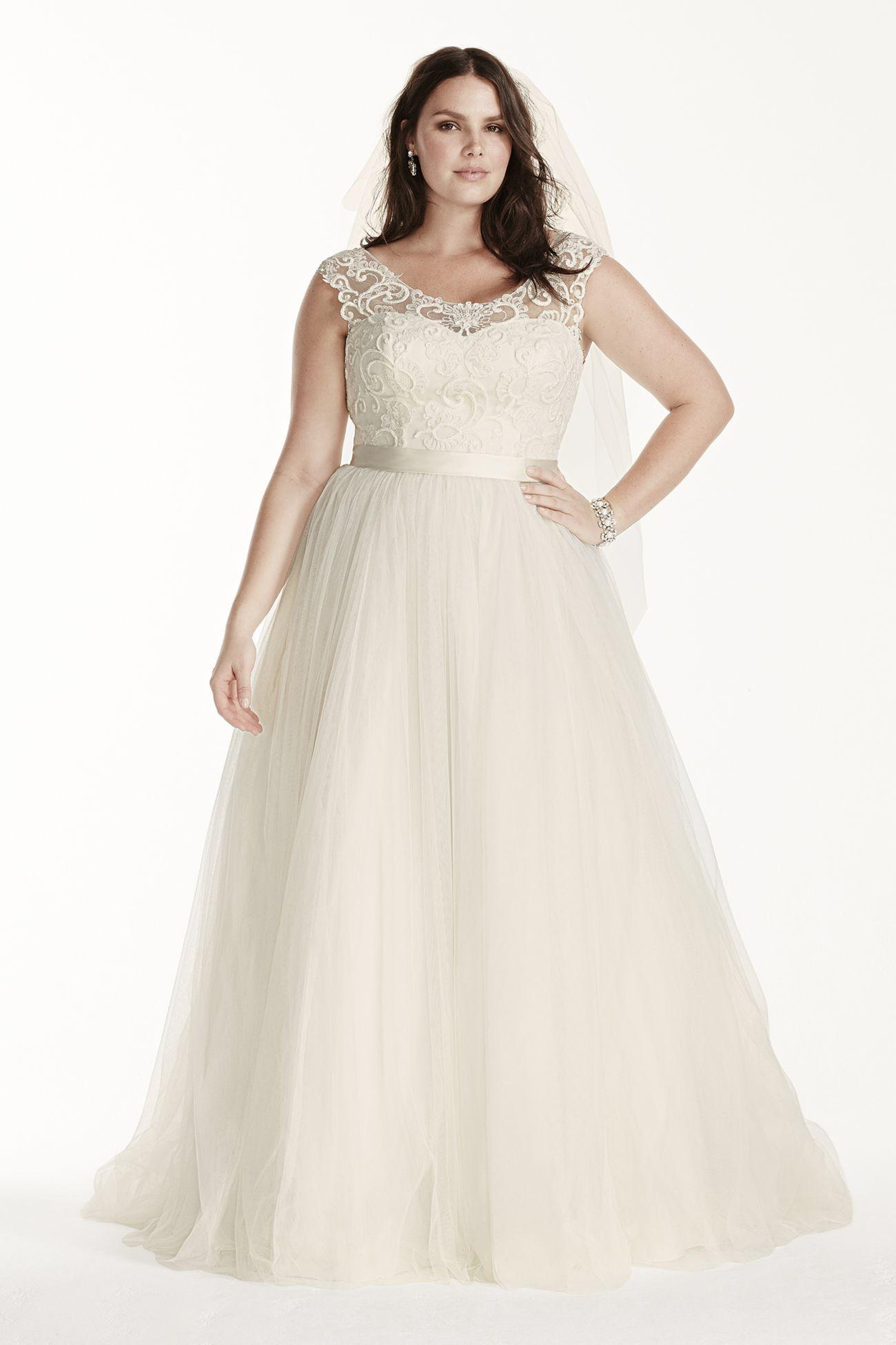 My New Favorite! www.davidsbridal.com/10414246 | Wedding | Pinterest ...