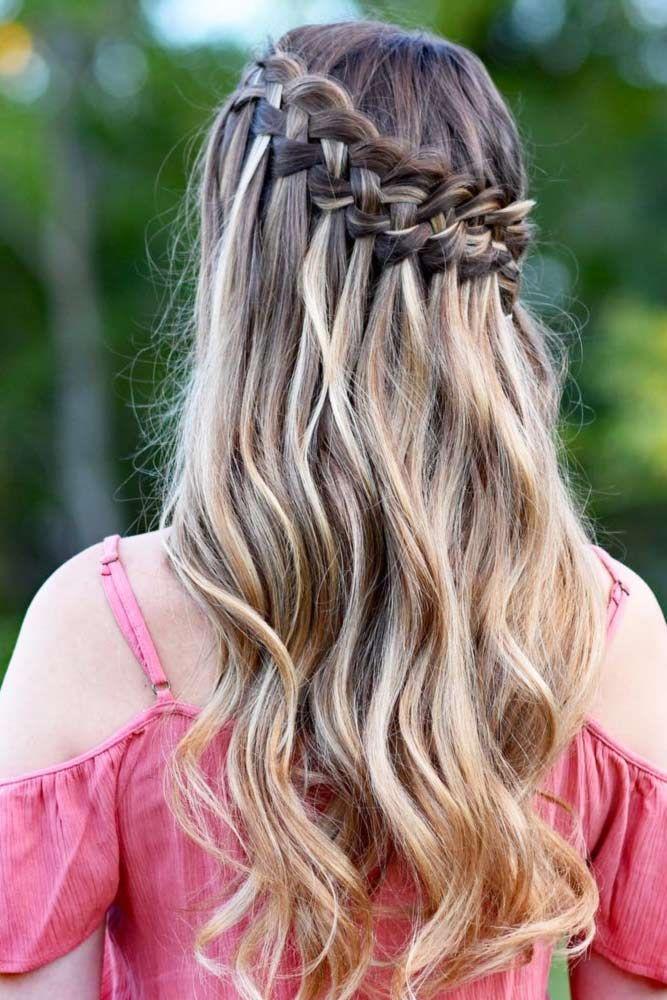 Learn How To Do A Waterfall Braid Hair Heaven Hair Styles Hair